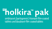 PrHOLKIRA™ PAK - ombitasvir/paritaprevir/ritonavir film-coated tablets and dasabuvir film-coated tablet